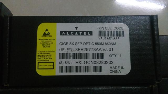 ALCATEL-LUCENT 3FE25773AA 550M 850NM