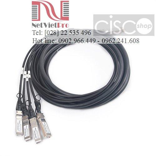 Cable DAC Cisco QSFP-4SFP10G-CU (0.5M,1M,2M, 3M,4M, 5M) Chính Hãng