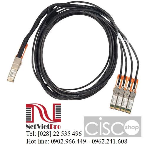 Cable DAC Cisco QSFP-4SFP25G-CU (1M, 2M, 3M, 5M) Chính Hãng