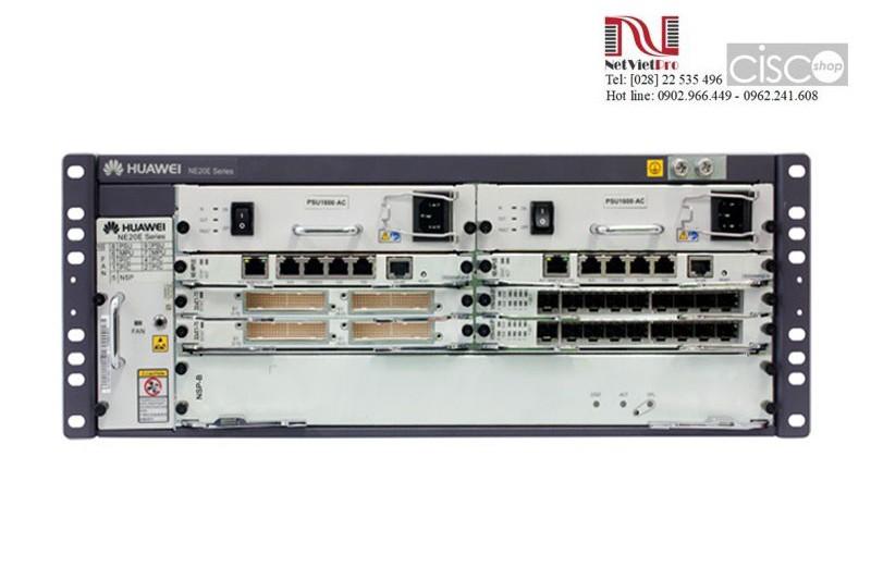 Huawei NE20E-S4 with 1*MPUE, 2*DC Power (CR2M04BASD01)