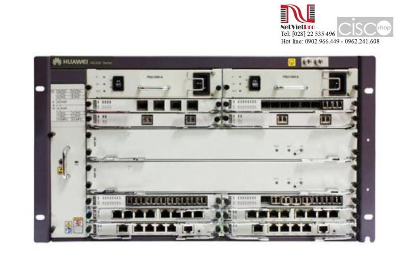Huawei NE20E-S8 with 2*MPUE, 2*DC Power (CR2M08BASD02)
